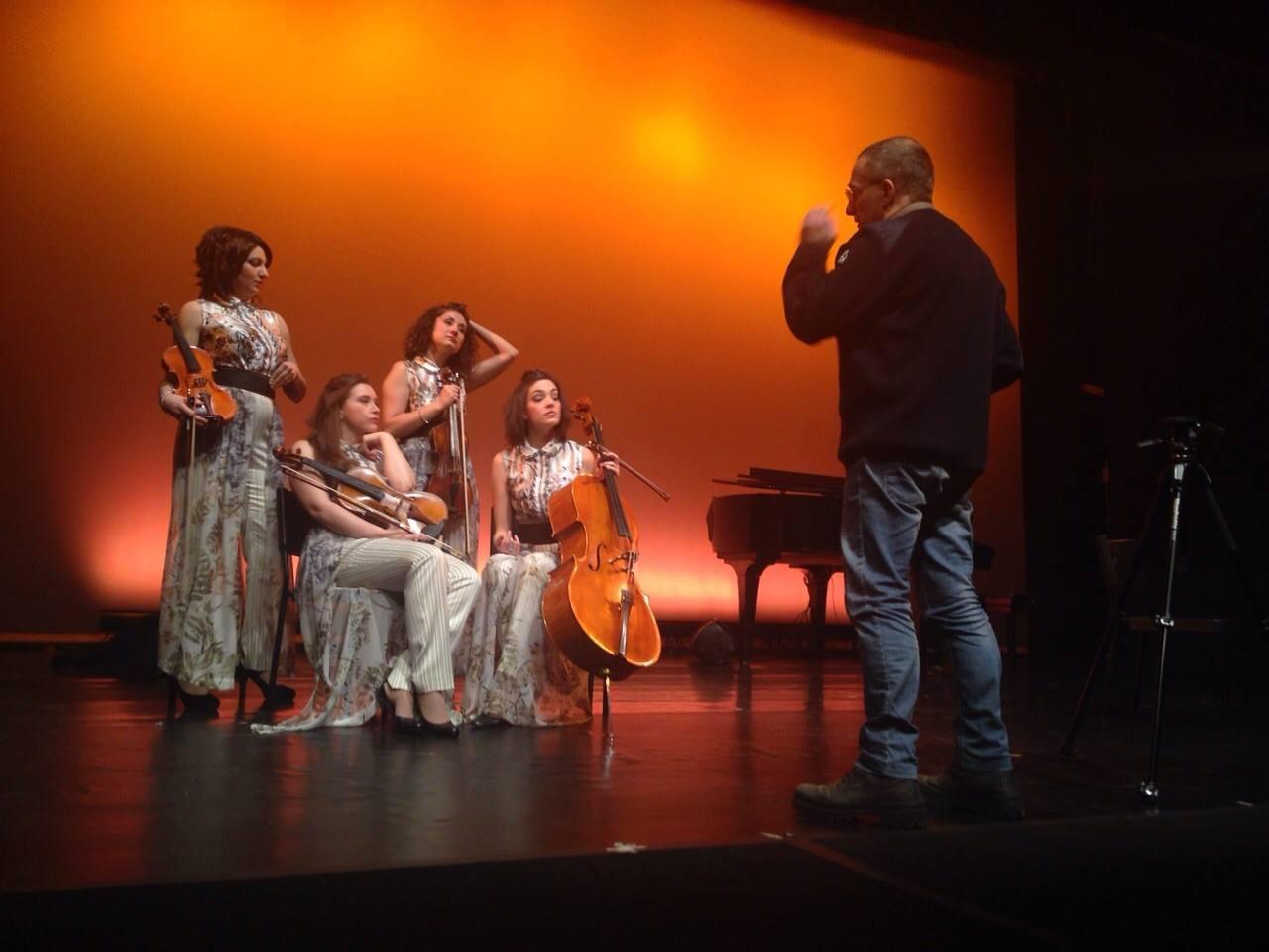 Sul set..con Enrico Bruno photographer!