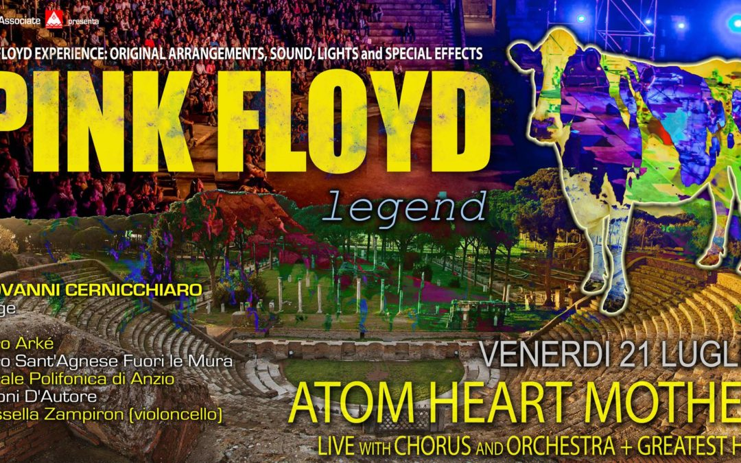 "Concerto ""Atom Heart Mother"" con i Pink Floyd Legend"