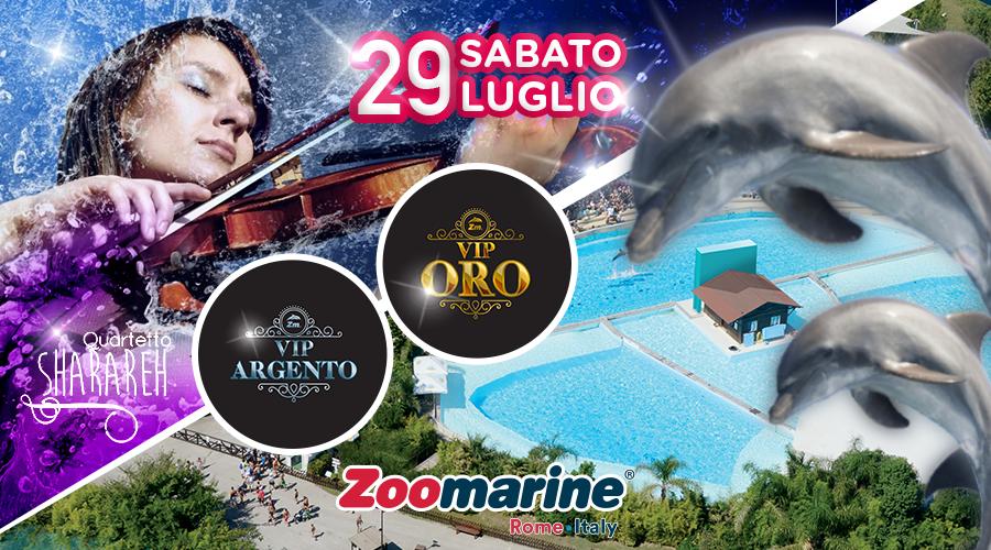 Il 29 Luglio 2017 Quartetto Sharareh a Zoomarine!!Fantastica avventura!!