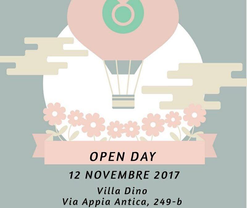 """Il 12 Novembre """"Open Day"""" a Villa Dino"""
